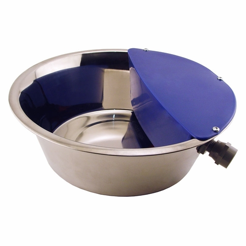 Sir Aqua III Stainless Steel Automatic Dog Waterer by RPI -- 1.8 gal.