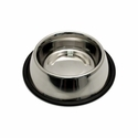 buy discount  Small Stainless Steel No-Tip Dog Food & Water Bowl #8302 -- approx 32 oz.