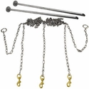 buy discount  Stainless Steel Chain Gang 3-dog