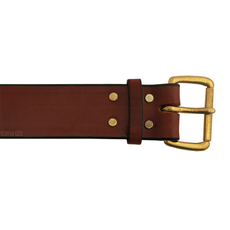 tbi leather gun belt 34 95