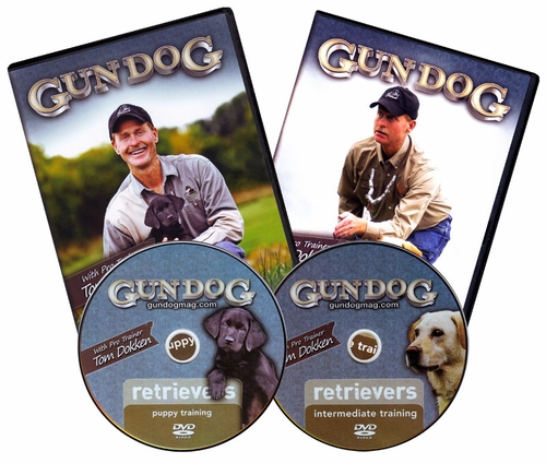 Tom Dokken's Retriever Training 2-disc DVD Set