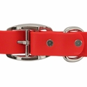 buy discount  Tufflex Red Center Ring Collar Back of Buckle Detail