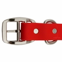 buy discount  Tufflex Red Center Ring Collar Buckle Detail