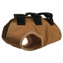 buy discount  TurtleSkin® Snake Armor Khaki Dog Vest -- Broad Chest