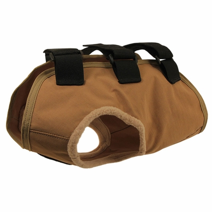 TurtleSkin® Snake Armor Khaki Dog Vest -- Regular Chest