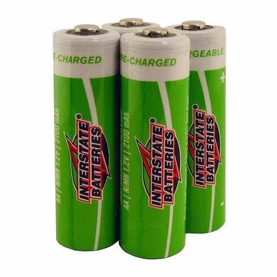 Interstate Battery Rechargeable NiMH AA Battery 4-Pack