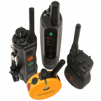 What are the differences in transmitter controls?
