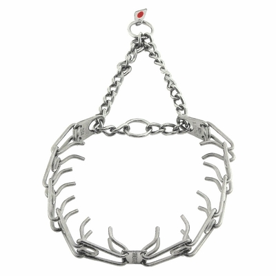 X-LARGE Herm Sprenger Stainless Steel Pinch Collar (no swivel) #6427S