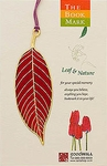 Bookmark - Red Leaf