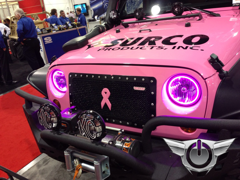 Oracle Color Changing Halo Headlight And Foglight Light