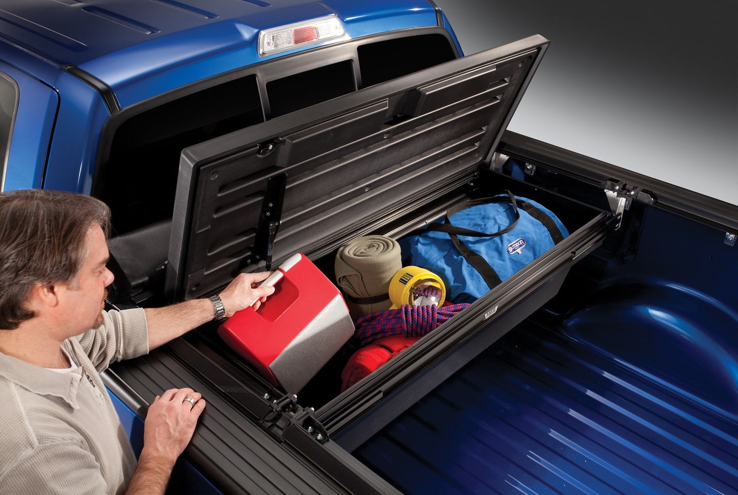 Tonneau Mate Under Truck Cover Truck Bed Tool Box by ...