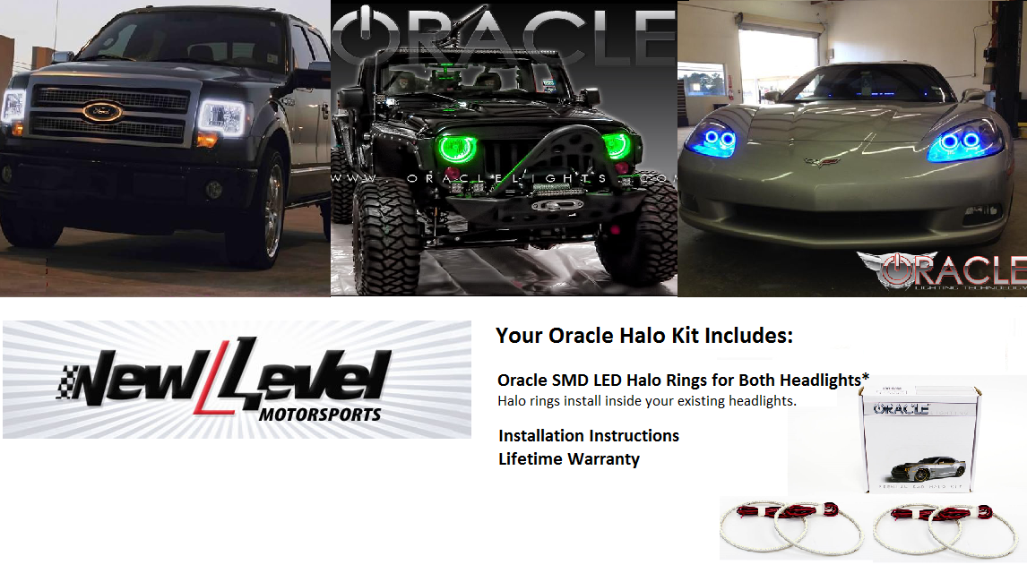 Oracle Halo Lights For Jeep Grand Cherokee 2011 2013