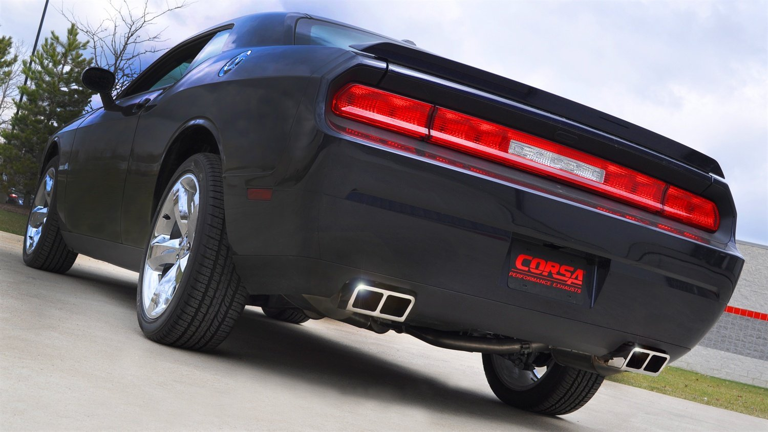 Corsa Cat Back Exhaust Dodge Challenger