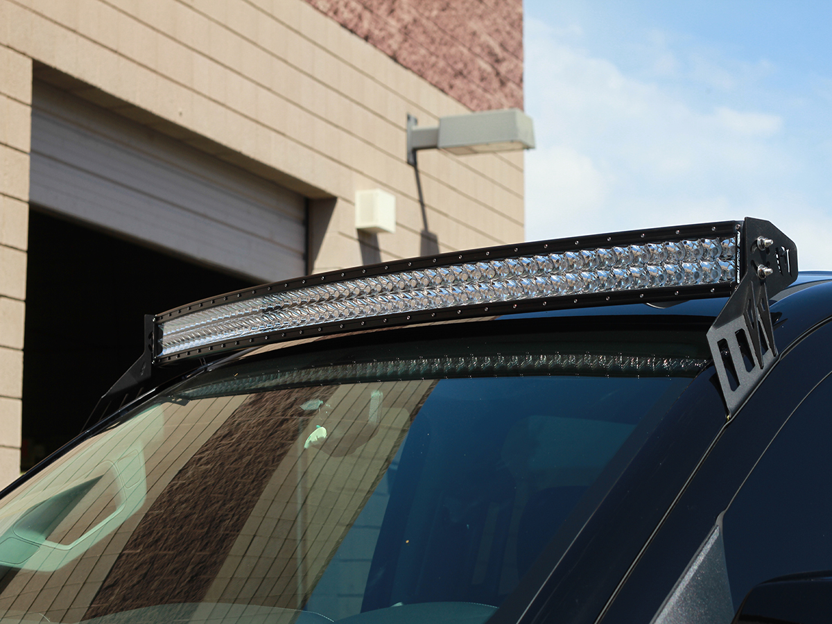 Roof Mounts For Rds Series Curved Led Light Bars By Rigid