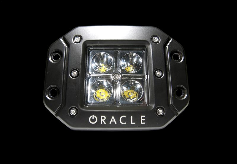 Square Led Lights By Oracle Off Road Square Flush Mount