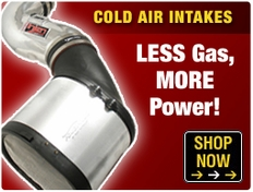 Cold Air Intakes - Less Gas, More Power!