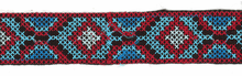 "1 3/8"" Iron-On Ribbon Aztec"