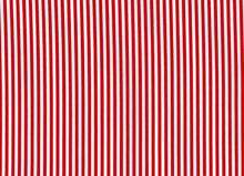 1/8 Pin Stripe Cotton Fabric Red""
