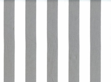 1 Inch Stripes Cotton Grey