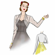 1940's Sleek Sleeve Bolero  #4012