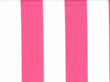 2 Inch Stripes Cotton Hot Pink