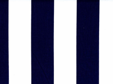 2 Inch Stripes Cotton Navy