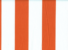 2 Inch Stripes Cotton Orange