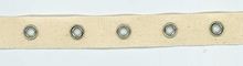 "3/4"" Grommet Tape Natural"