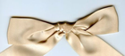 "3/8"" Double Faced Satin Ribbon Champagne"