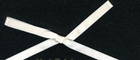 "3/8"" Double Faced Satin Ribbon Ivory"