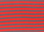 Organic Stripe Knit Red