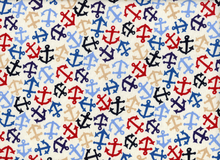 Alexander Henry Anchors Away Cotton Natural
