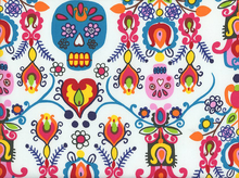 Alexander Henry Calaveras Del Mar Cotton Natural