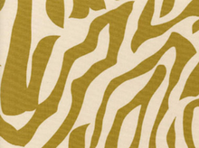Alexander Henry Fabric Cotton Canvas Zebra Mustard
