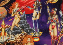 Alexander Henry Galactic Ladies in Space