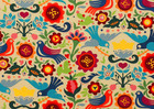 Alexander Henry La Paloma BPA Free Laminated Cotton Fabric Multi