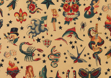 Alexander Henry Tattoo Fabric Tea