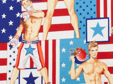 All American Hunks Cotton in Bright
