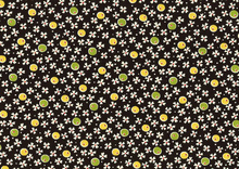 American Jane Mini Flowers Black