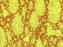 Amy Butler Cameo Folly Cotton Fabric Butterscotch