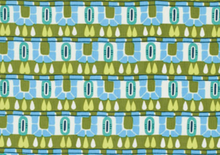 Amy Butler Cameo Hopscotch Fabric Olive