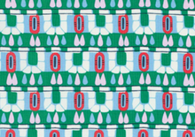 Amy Butler Cameo Hopscotch Fabric Pine