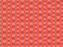 Amy Butler Stitchy Dots Cotton Coral