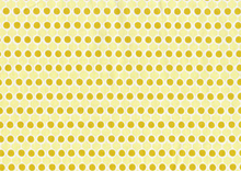 Ana Davis Spring Promise Dots Cotton Yellow