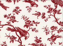 Anna Griffin Jolie Oiseau Cotton Red