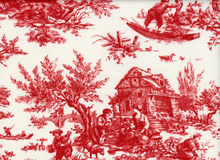 Anna Griffin Jolie Pastoral Cotton Red