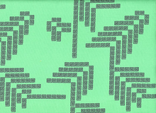 Anna Maria Horner Fibs & Fables Labyrinth Cotton Jade