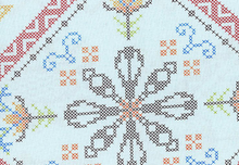 Anna Maria Horner for Free Spirit Needlework Visions Blue