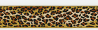 "Anna Maria Horner Leopard Ribbon 1 5/8"" Brown"