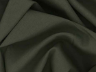 Army Green Silk Voile Fabric